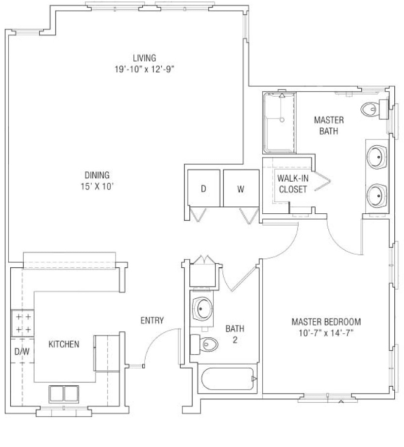 Cottages - One Bedroom